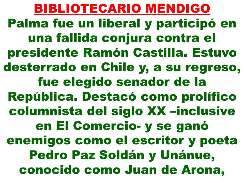 BIBLIOTECARIO MENDIGO