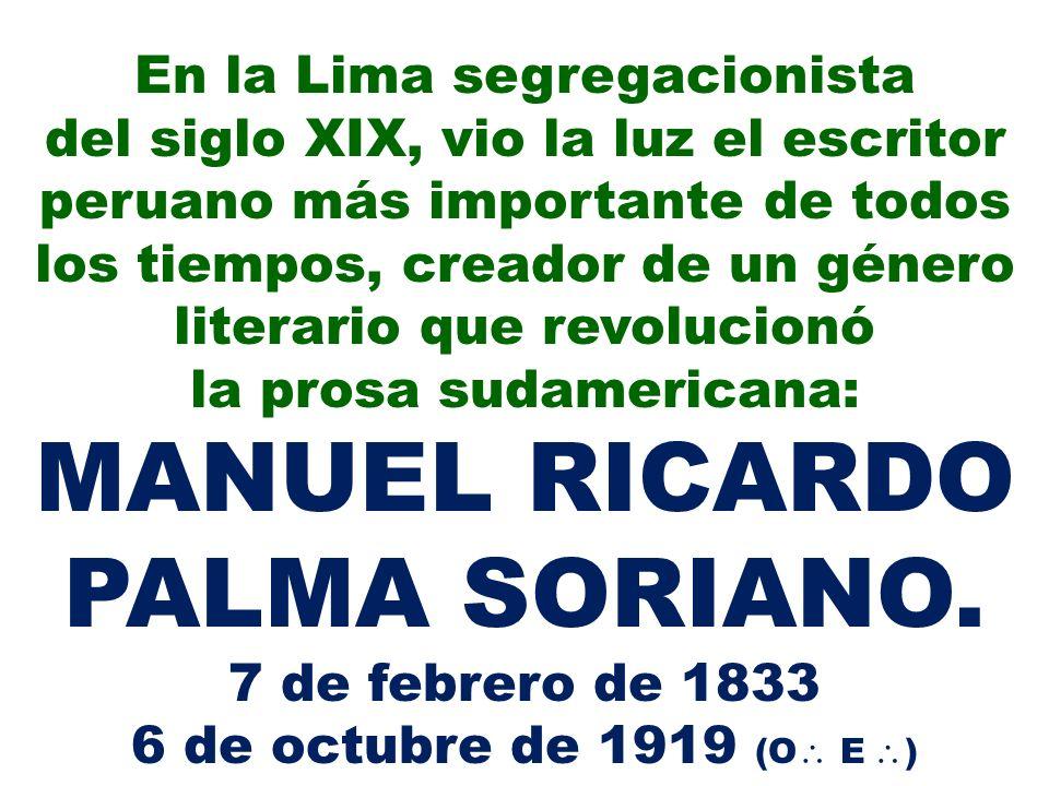 En la Lima segregacionista