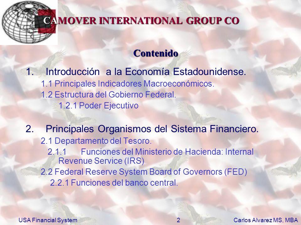 Introducción a la Economía Estadounidense.