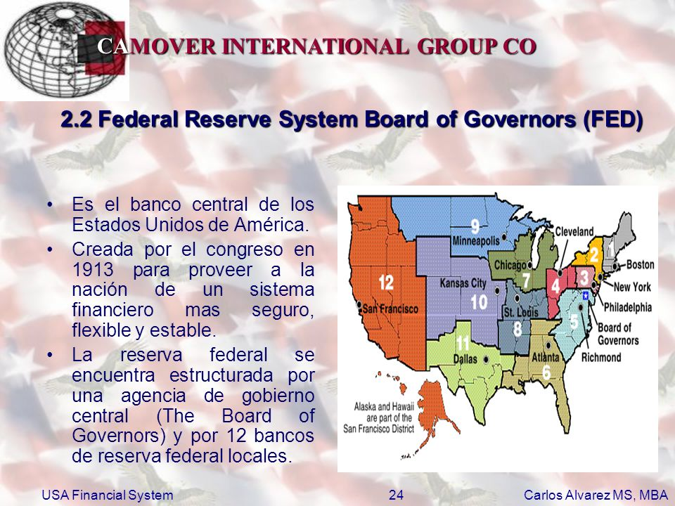 2.2 Federal Reserve System Board of Governors (FED)