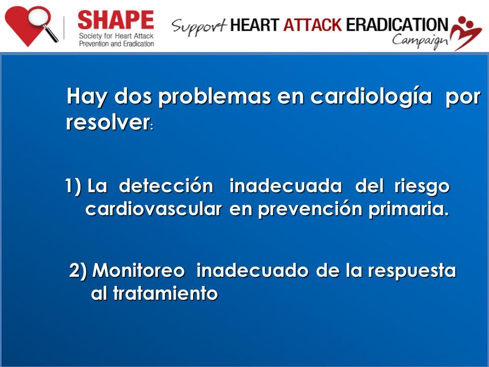 Hay dos problemas en cardiología por resolver: