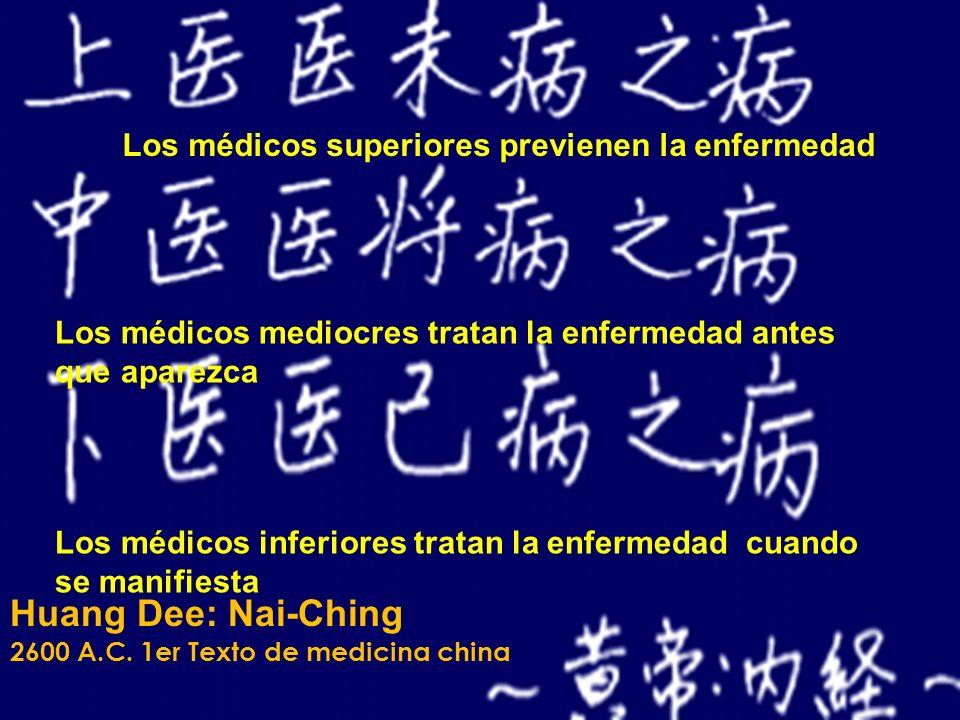 Huang Dee: Nai-Ching Los médicos superiores previenen la enfermedad