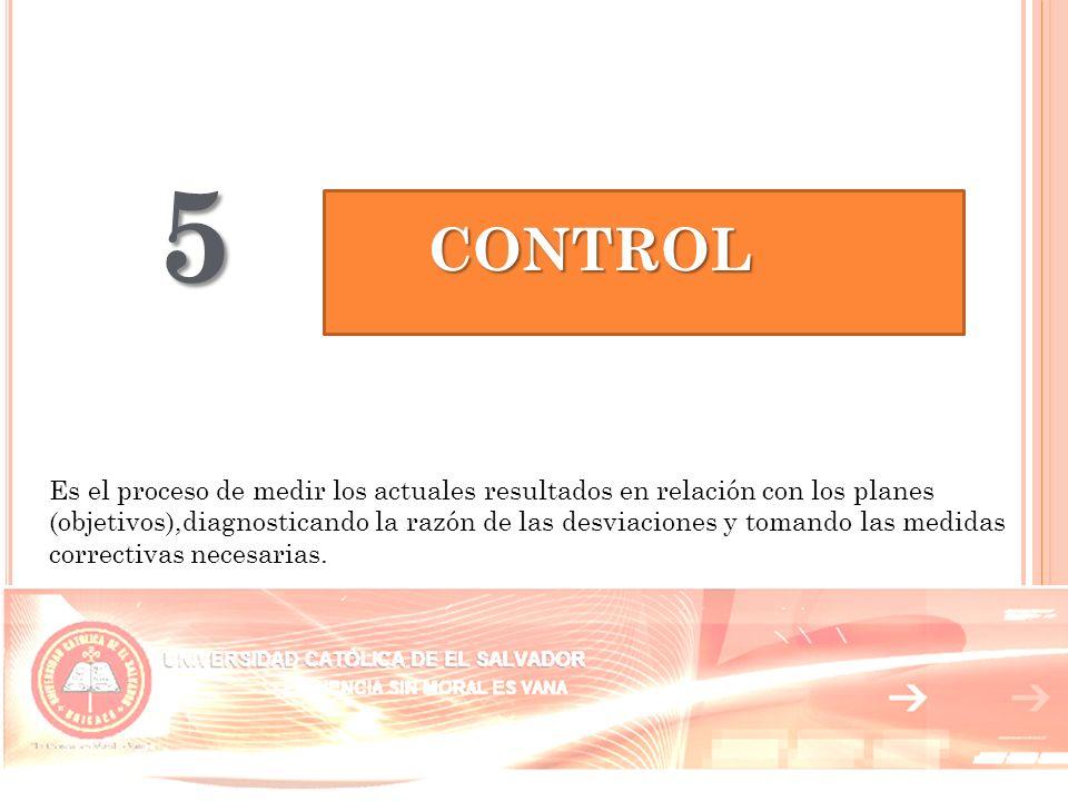 5 CONTROL.