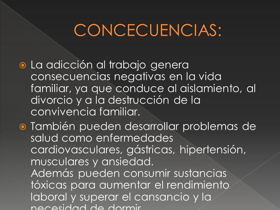 CONCECUENCIAS: