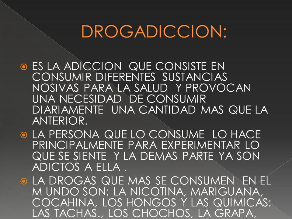 DROGADICCION: