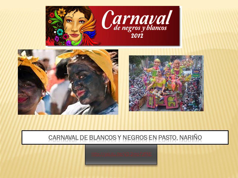 carnaval de blancos y negros en pasto, Nariño