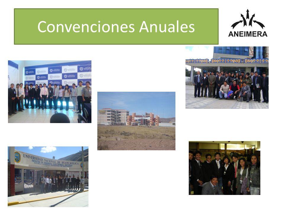 Convenciones Anuales