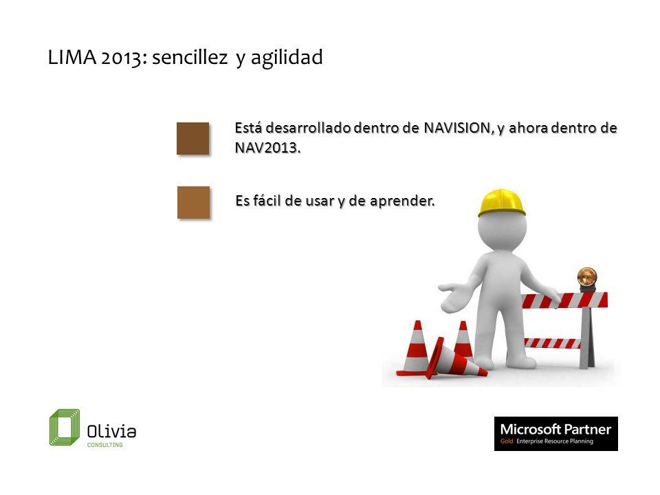 LIMA 2013: sencillez y agilidad