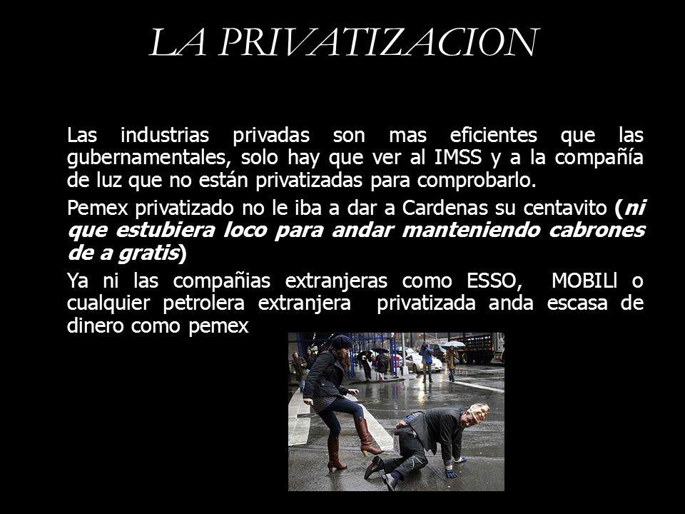 LA PRIVATIZACION