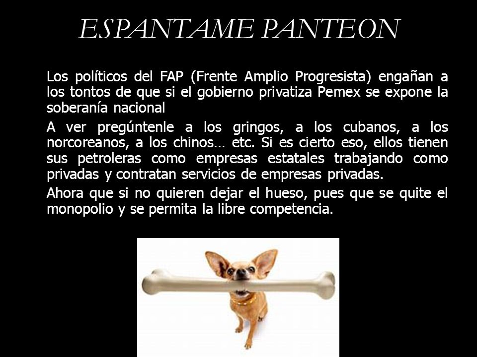 ESPANTAME PANTEON