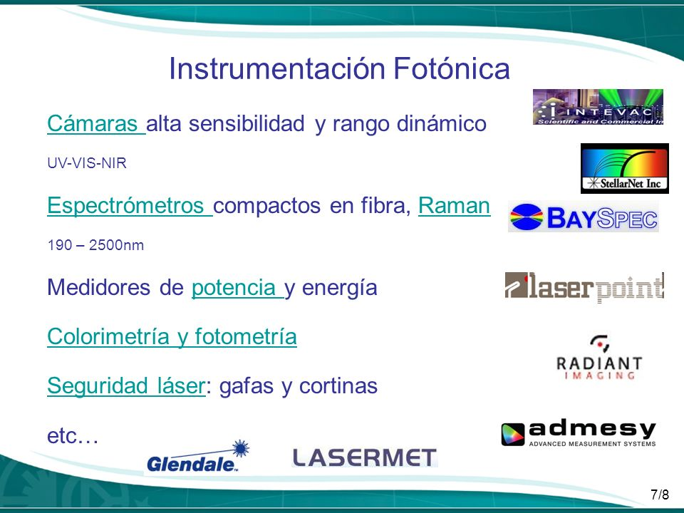 Instrumentación Fotónica