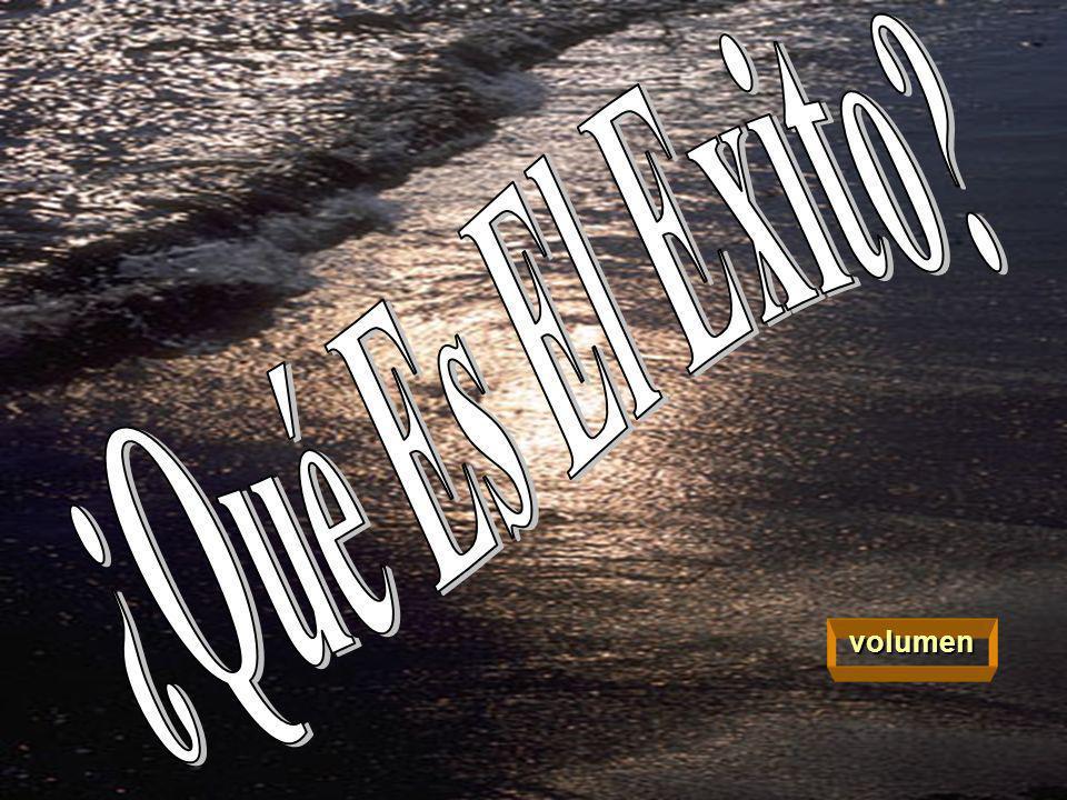 ¿Qué Es El Exito volumen