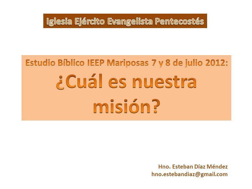 ¿Cuál es nuestra misión