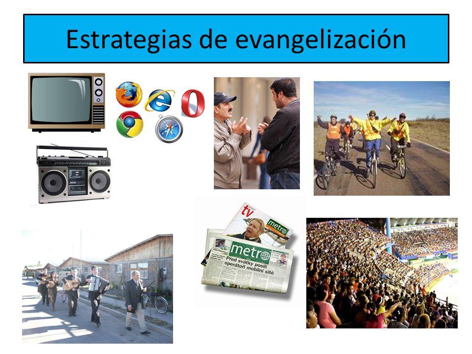 Estrategias de evangelización