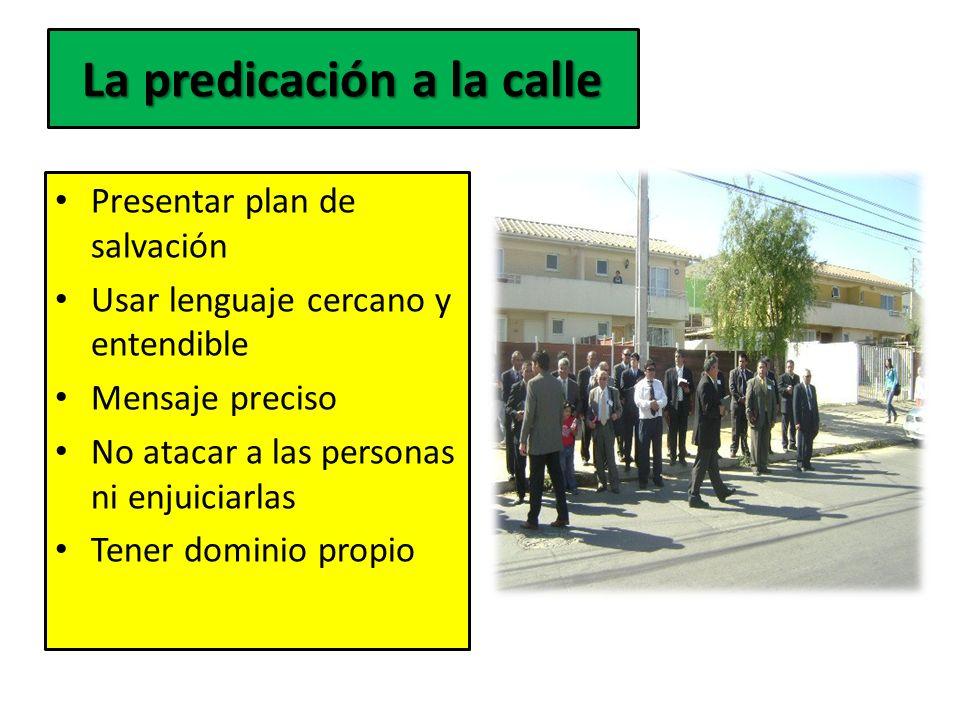 La predicación a la calle
