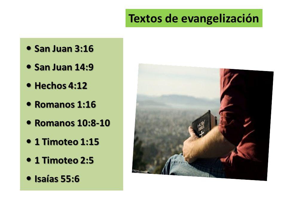 Textos de evangelización