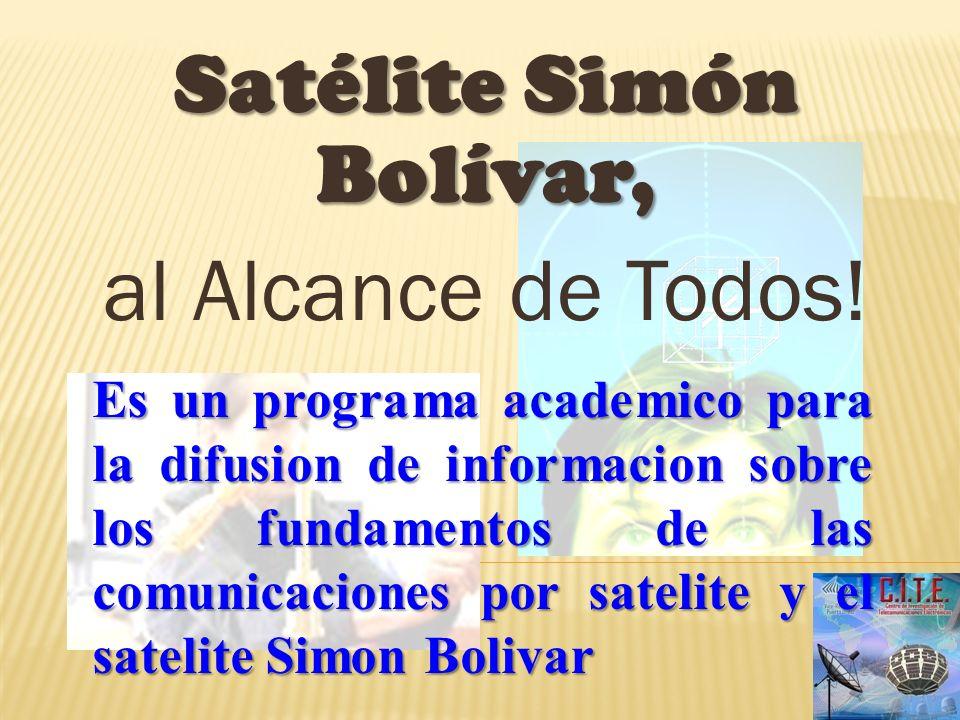 Satélite Simón Bolívar,