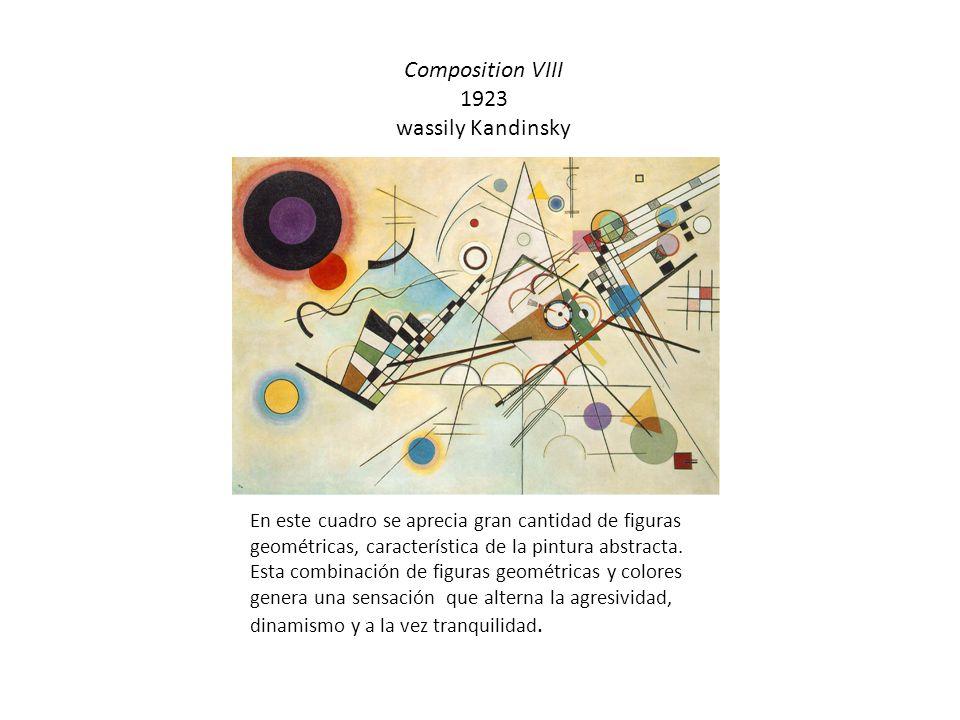 Composition VIII 1923 wassily Kandinsky