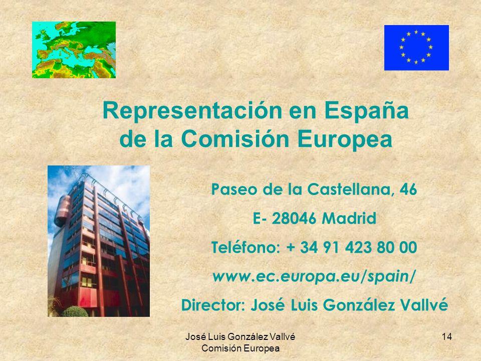 Representación en España de la Comisión Europea