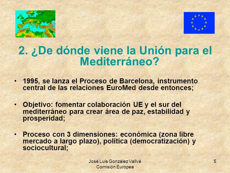 2. ¿De dónde viene la Unión para el Mediterráneo