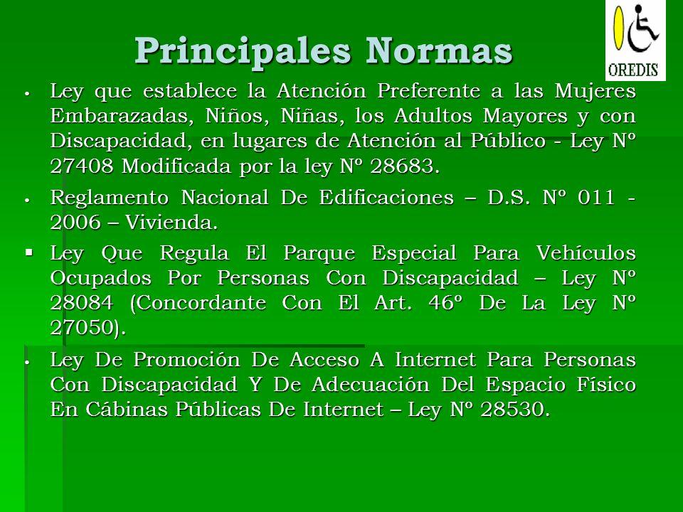 Principales Normas