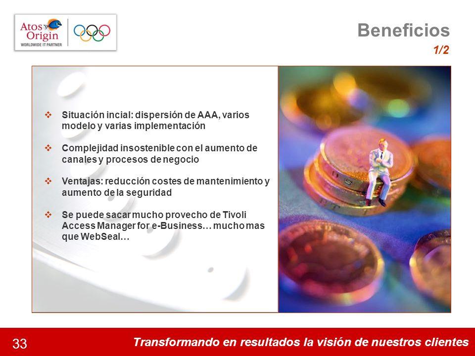 Beneficios 1/2. Algunos datos de la magnitud del proyecto. 35 disciplinas y 301 acontecimientos deportivos.