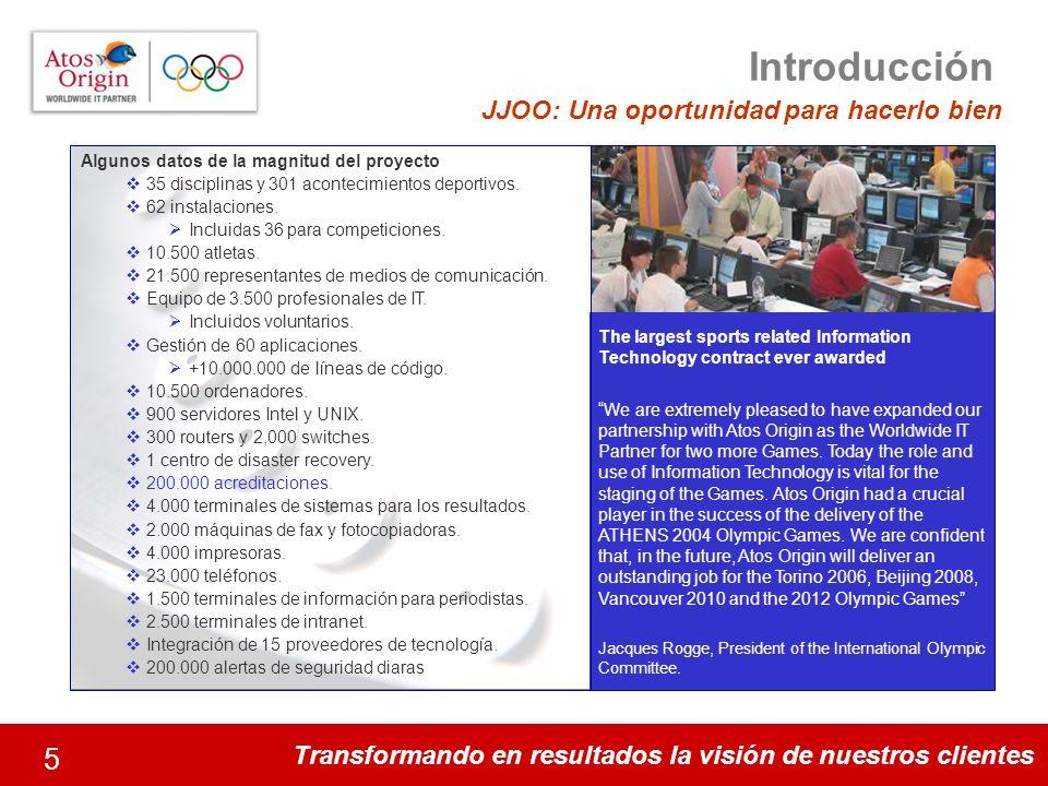 Introducción JJOO: Una oportunidad para hacerlo bien