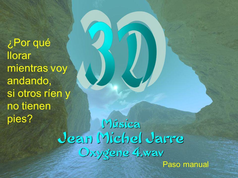 3D Jean Michel Jarre ¿Por qué llorar mientras voy andando,