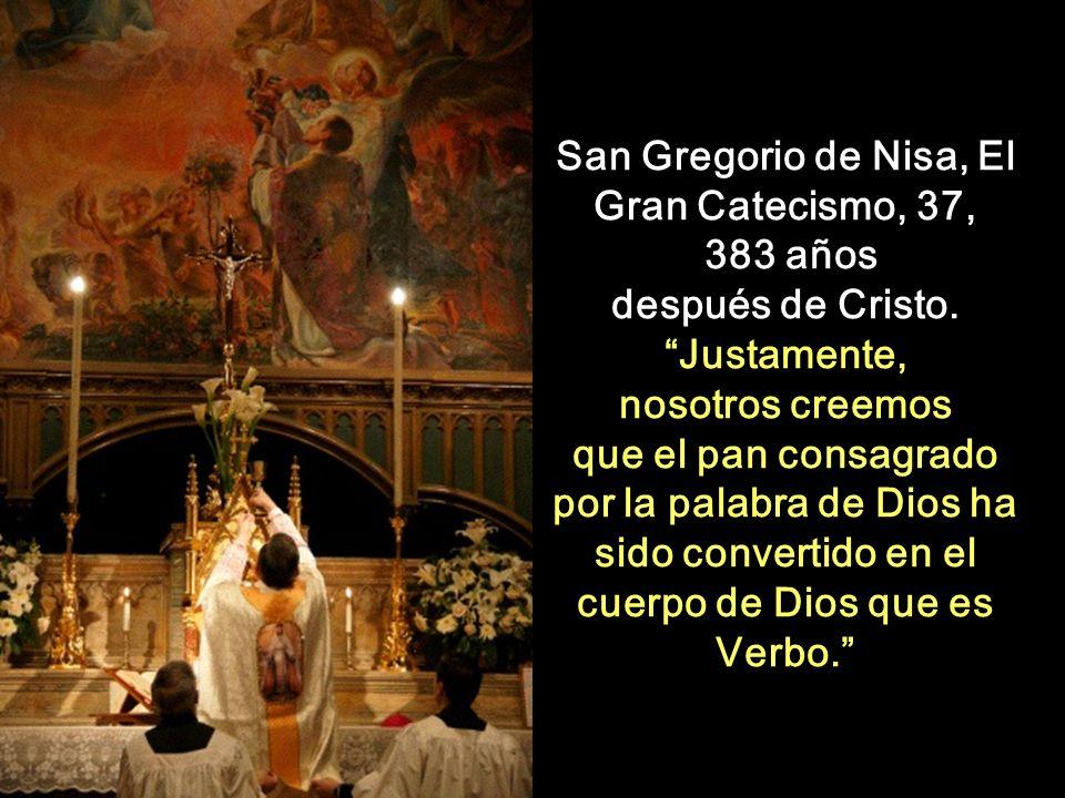 San Gregorio de Nisa, El Gran Catecismo, 37,
