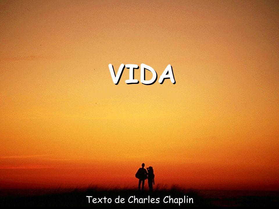 Texto de Charles Chaplin