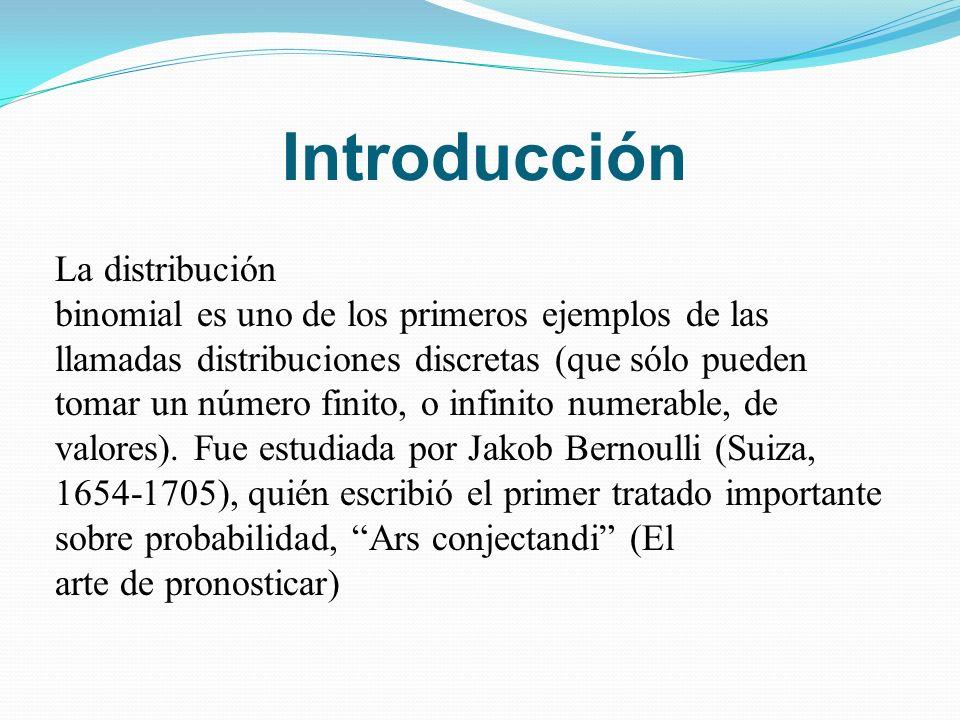 Introducción La distribución