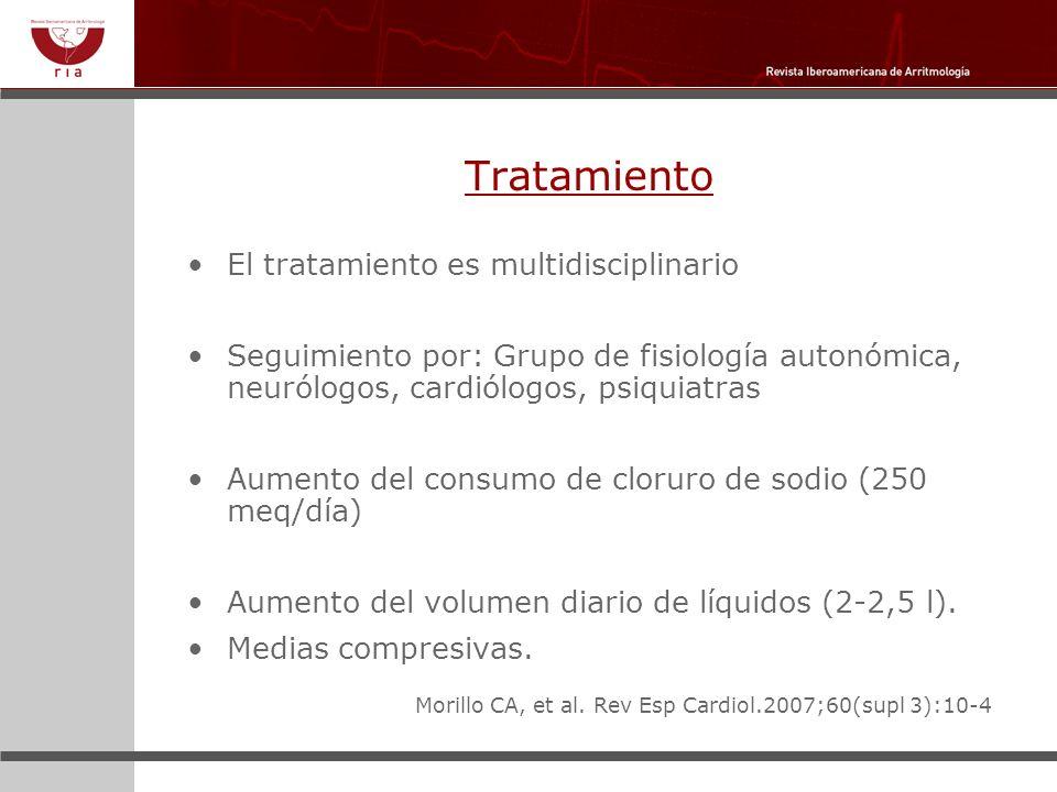 Tratamiento El tratamiento es multidisciplinario
