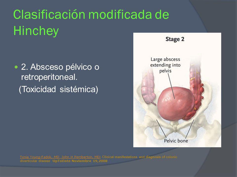 Clasificación modificada de Hinchey