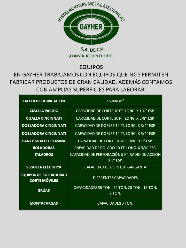 EQUIPOS DE SOLDADURA Y CORTE MÓVILES