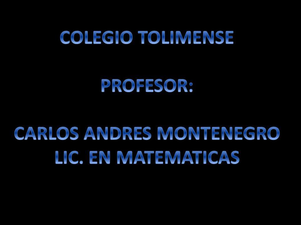 CARLOS ANDRES MONTENEGRO