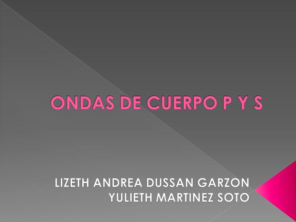LIZETH ANDREA DUSSAN GARZON YULIETH MARTINEZ SOTO