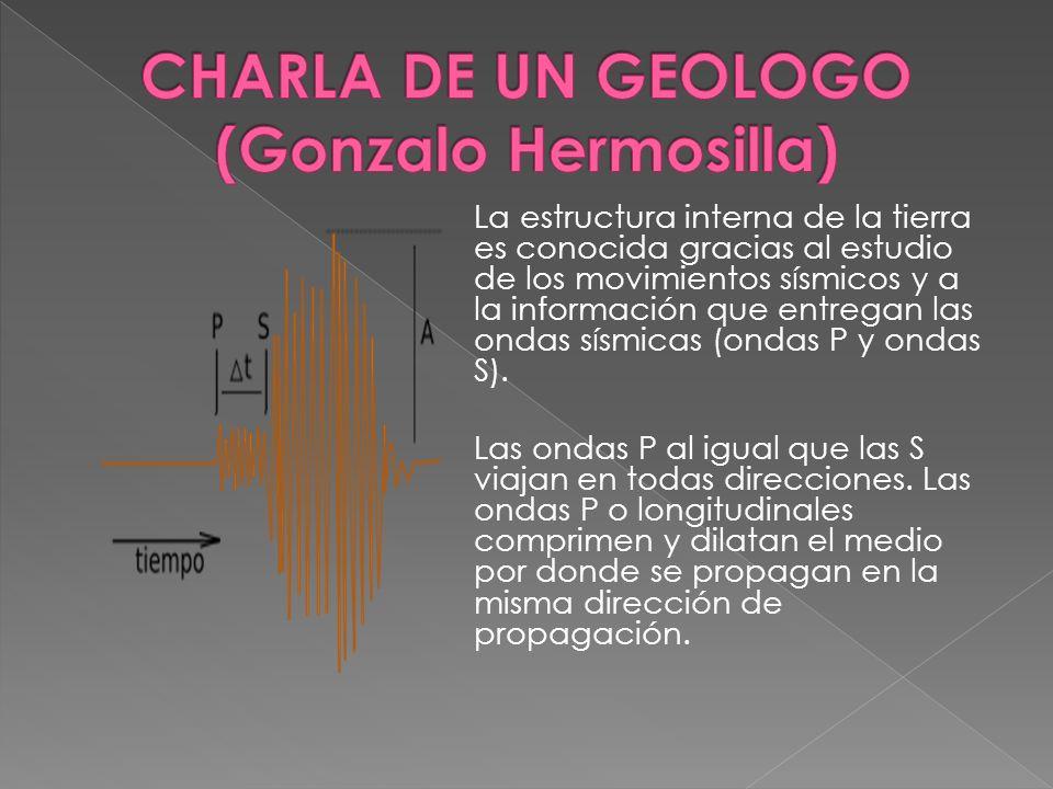 CHARLA DE UN GEOLOGO (Gonzalo Hermosilla)