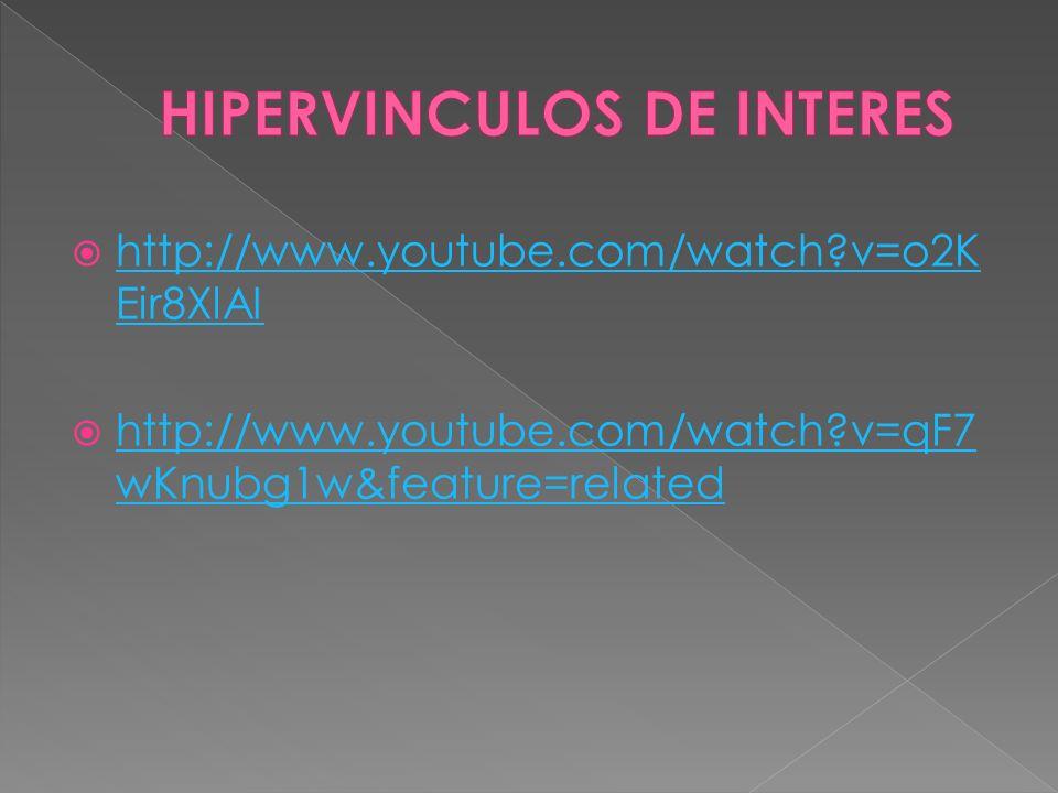 HIPERVINCULOS DE INTERES