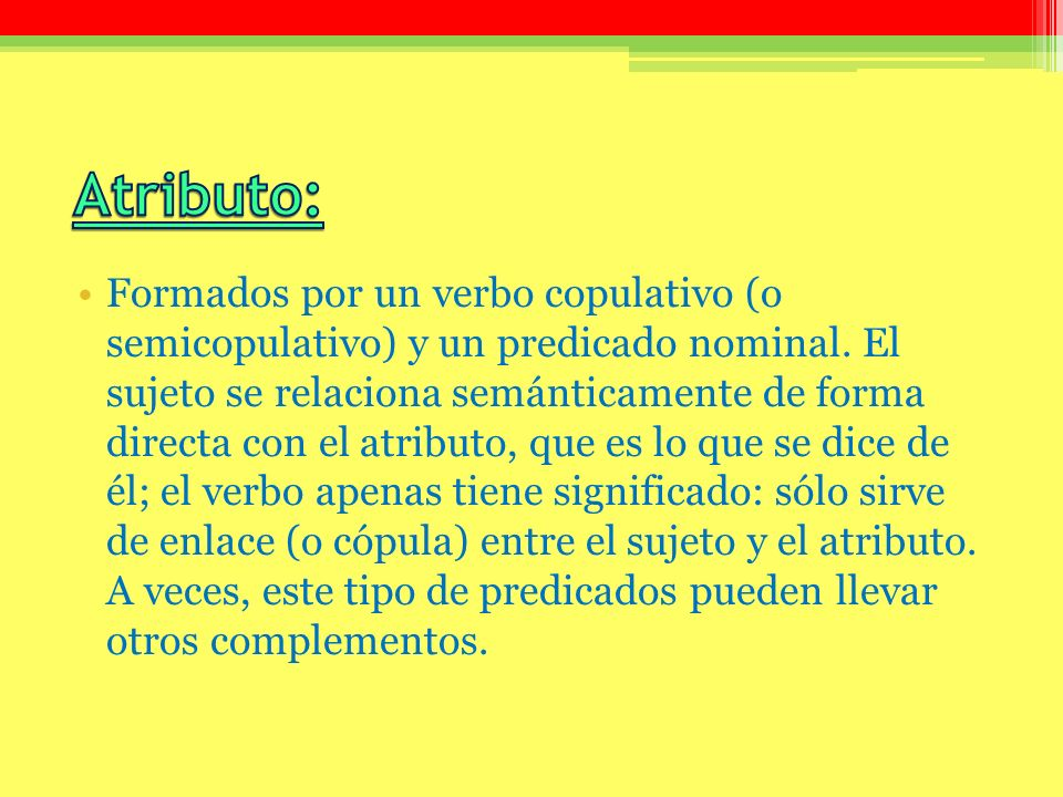 Atributo: