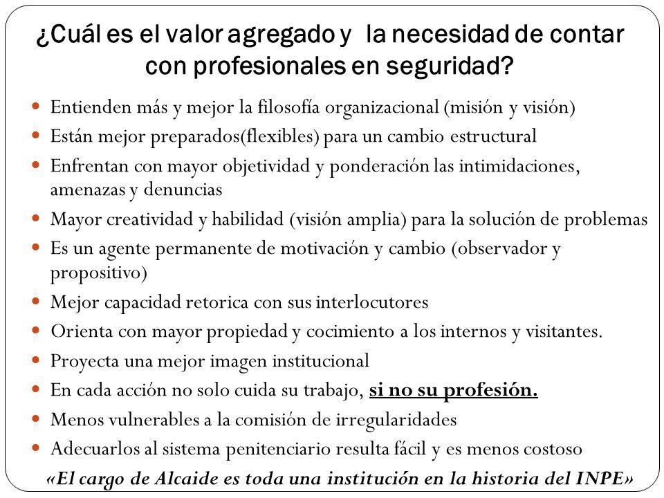 «El cargo de Alcaide es toda una institución en la historia del INPE»
