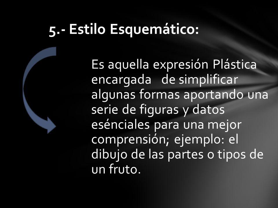 5.- Estilo Esquemático:
