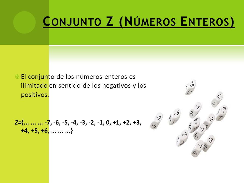 Conjunto Z (Números Enteros)