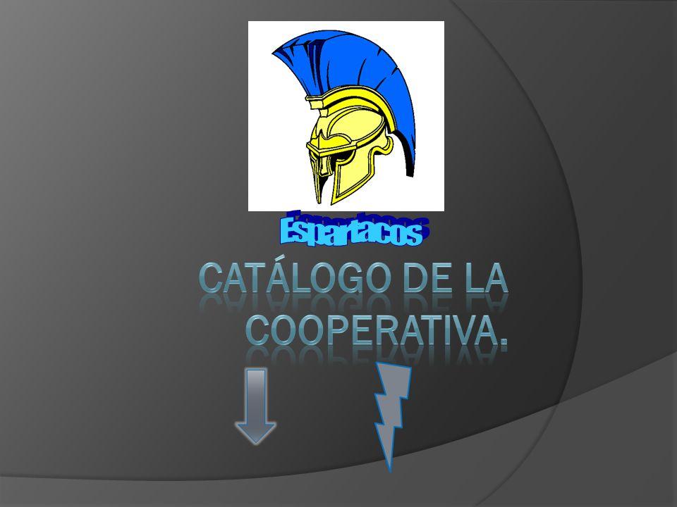 Catálogo de la cooperativa.