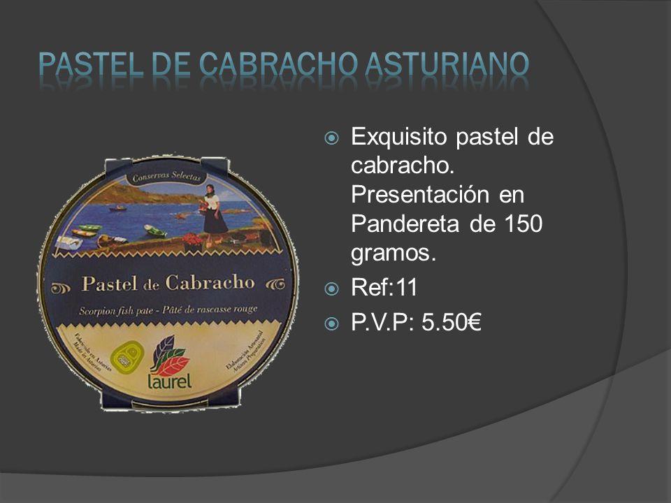 PASTEL DE CABRACHO ASTURIANO