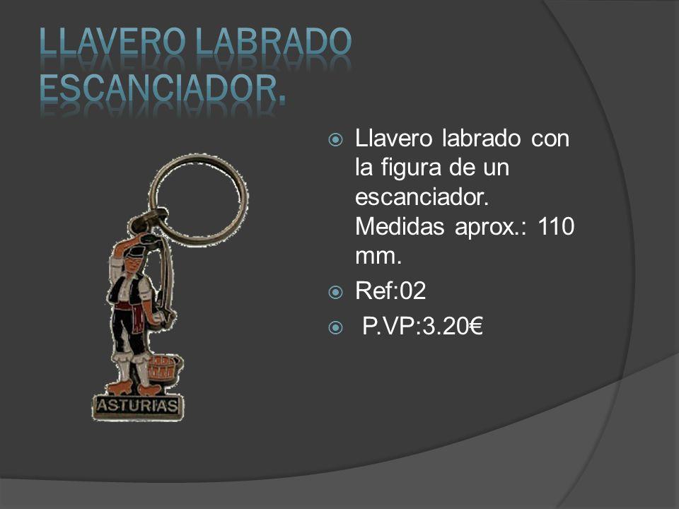 Llavero Labrado ESCANCIADOR.