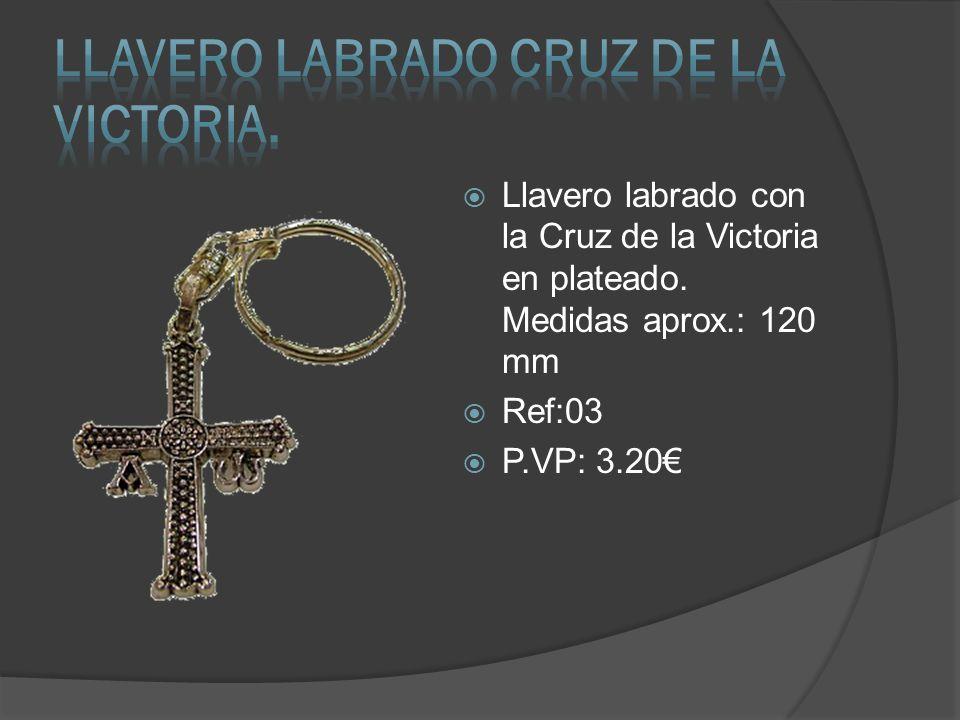 Llavero Labrado CRUZ DE LA VICTORIA.