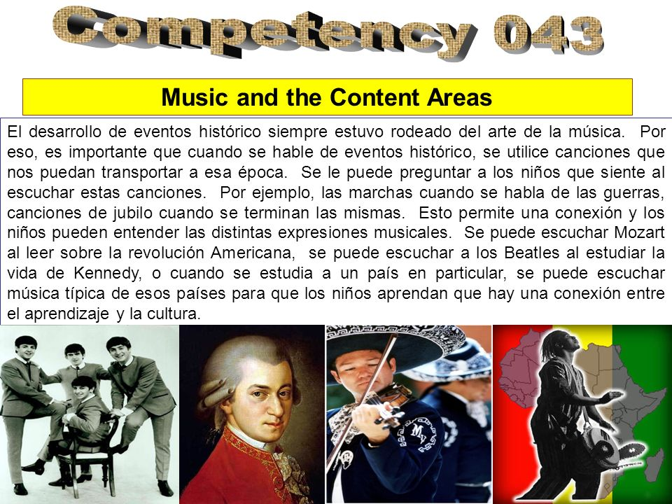 Music and the Content Areas