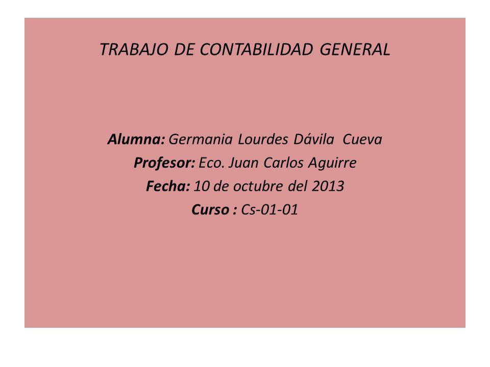 TRABAJO DE CONTABILIDAD GENERAL