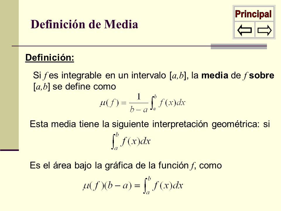Principal Definición de Media Definición:
