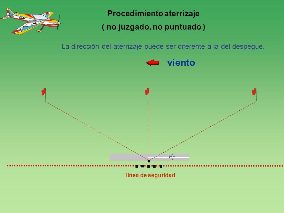Procedimiento aterrizaje ( no juzgado, no puntuado )